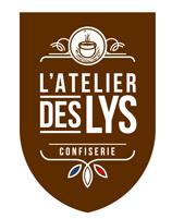 le logo de la confiserie L'Atelier des lys